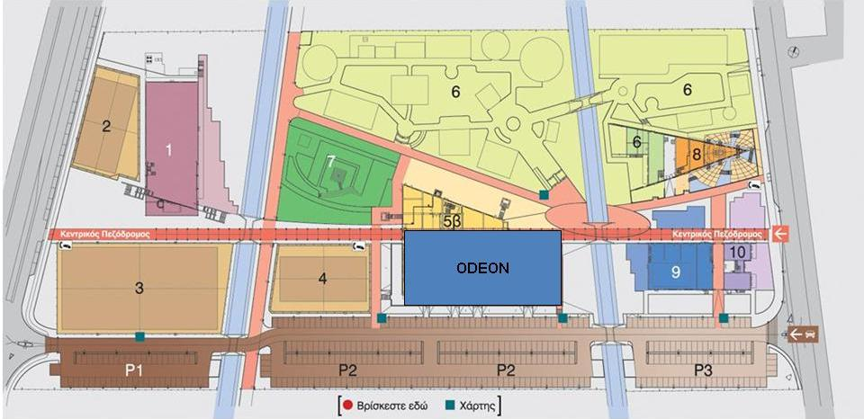 ODEON map